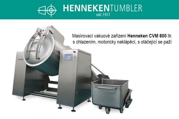 Masírovací vakuové zařízení Henneken CVM 600