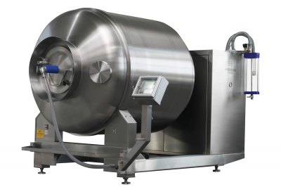 PŘEDVÁDĚCÍ STROJ Masírovací zařízení Henneken B2 900l s vakuem, chlazením a ohřevem